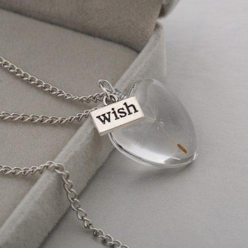 geluksketting doe een wens hartje