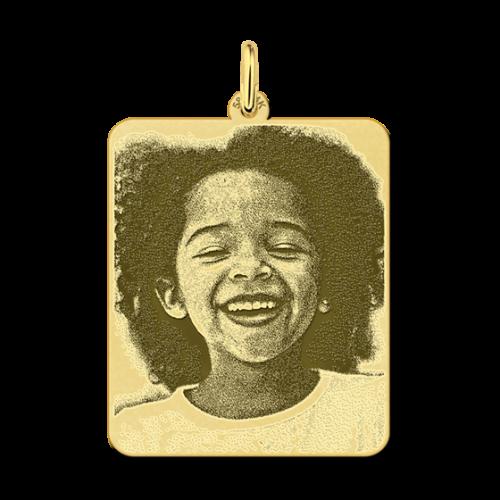 hanger met foto goud