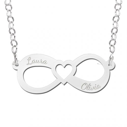 zilveren-ketting-met-naam-en-hartje-met-infinity-teken