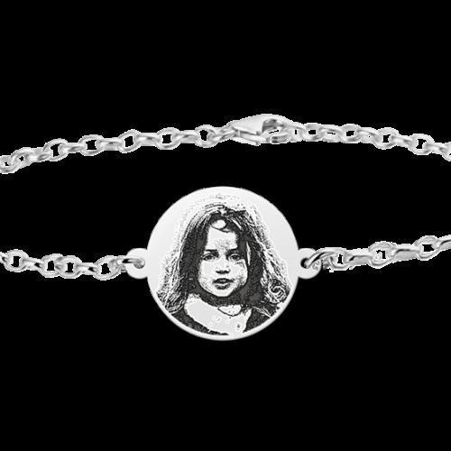 gegraveerde-armband-met-foto-zilver