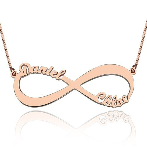 infinity-ketting-2-namen-rose-goud